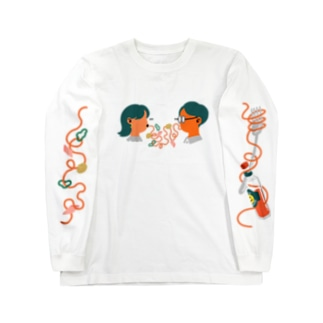 サイトウアケミのナポリタン・ラブ Long sleeve T-shirts