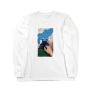 雲の上で Long sleeve T-shirts
