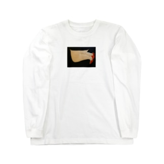 ひざまくら Long sleeve T-shirts