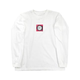 コインランドリーレコードオリジナルTシャツ-オレンジ Long sleeve T-shirts