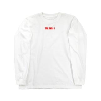 I LOVE ME Long sleeve T-shirts
