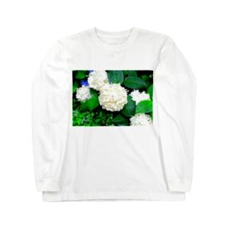 紫陽花 Long Sleeve T-Shirt
