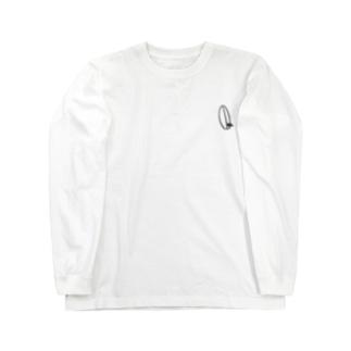 たつおと海子 公式ショップのSeasideKitchen(シンプル) Long sleeve T-shirts