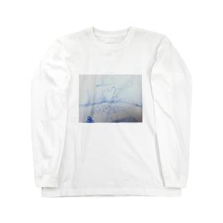 ぽけープ Long sleeve T-shirts