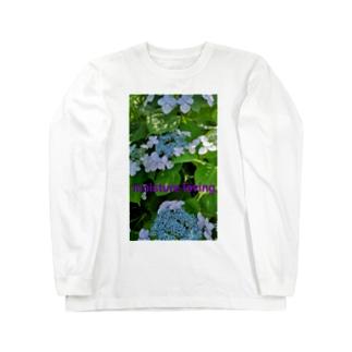 紫陽花Ⅱ Long Sleeve T-Shirt