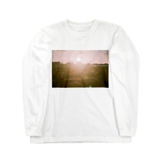 優しい光 Long sleeve T-shirts
