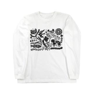 ネコユメ Long sleeve T-shirts