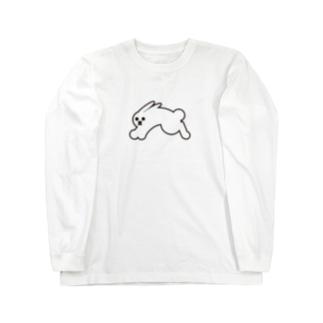 ジャンピングラビット Long sleeve T-shirts