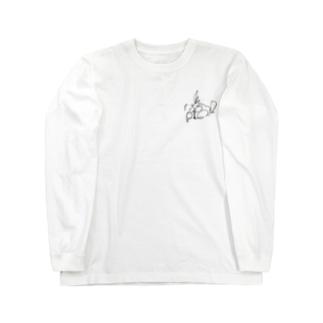 驚きのアキメインコ! Long sleeve T-shirts