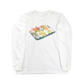 すし詰め Long sleeve T-shirts