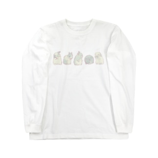 グルーミング5 Long sleeve T-shirts