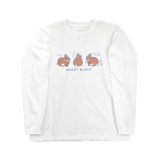 アングリーバニー Long sleeve T-shirts