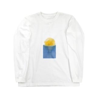 良い海だなぁ  Long sleeve T-shirts