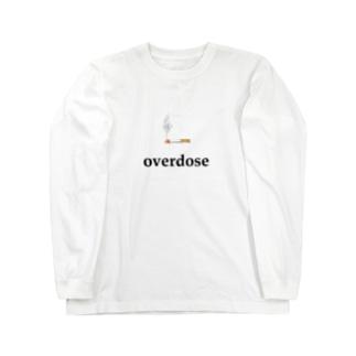 煙草 overdose Long sleeve T-shirts