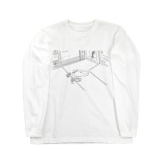 理想の生活 Long sleeve T-shirts