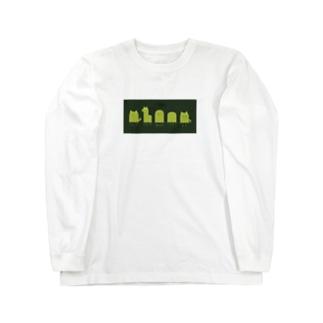 オバケになり隊 Long sleeve T-shirts