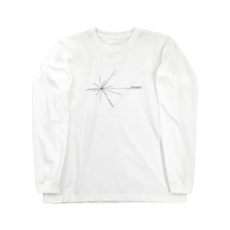 Voyager ロゴ(黒) Long sleeve T-shirts