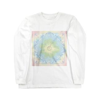 シュナバンダナ レインボー Long sleeve T-shirts