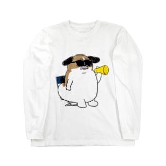 もじゃまる監督 Long sleeve T-shirts