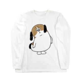 もじゃまるなぁに? Long sleeve T-shirts