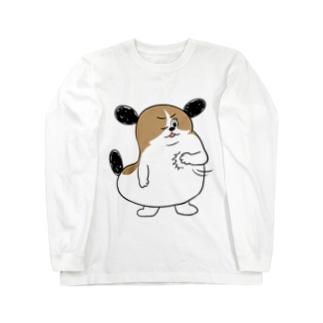 もじゃまるおまかせ Long sleeve T-shirts