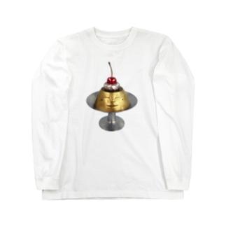 プリン・ア・ラ・ドーモ Long sleeve T-shirts