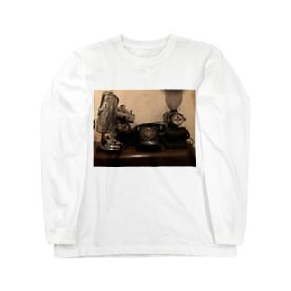 レトロアイテム Long sleeve T-shirts