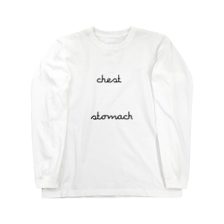 chest_stomach Long sleeve T-shirts