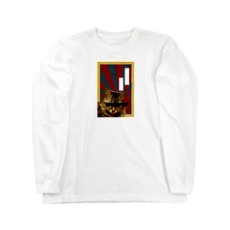 愛国猫 Long sleeve T-shirts