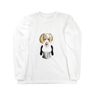 Gothic Girl Long sleeve T-shirts