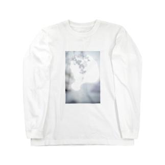 桜フォト Long sleeve T-shirts