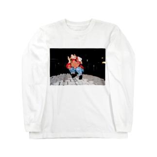 スモーキー・ガール Long sleeve T-shirts