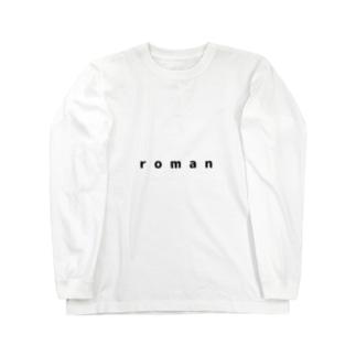 ロマンシャツ Long sleeve T-shirts