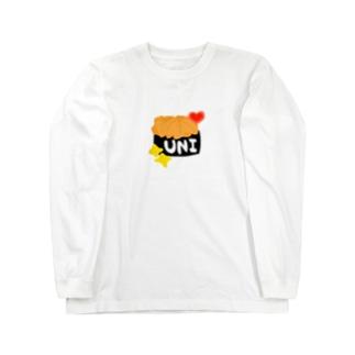 ★うーにー☆ Long sleeve T-shirts