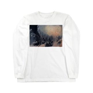 くらげ『浮遊』 Long sleeve T-shirts