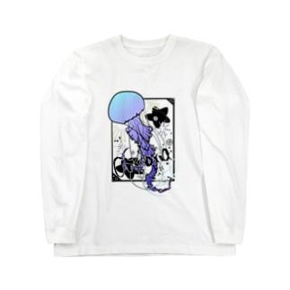 刺胞動物 Long sleeve T-shirts