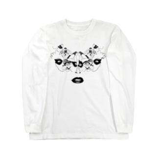 仮面#01 Long sleeve T-shirts