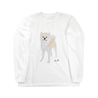 秋田イッヌ Long sleeve T-shirts