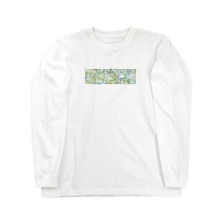 ビビビビ Long sleeve T-shirts
