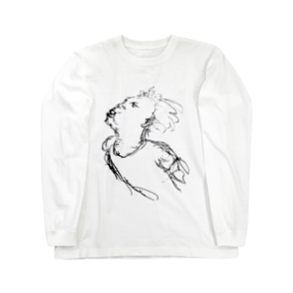 ふきとばす Long sleeve T-shirts