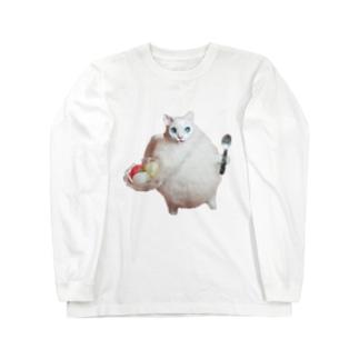 エンジェルシャーベットキャット Long sleeve T-shirts