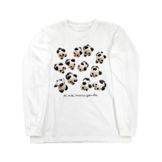 ニンキモノパンダ Long Sleeve T-Shirt