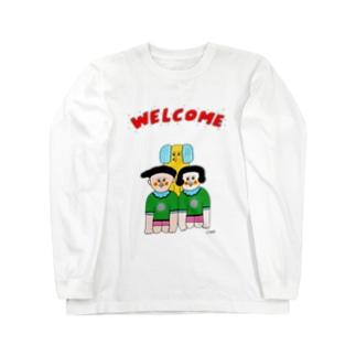 ウェルカム一家 Long sleeve T-shirts