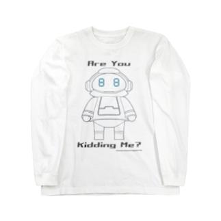 メカトロメイト「おこ」 Long sleeve T-shirts