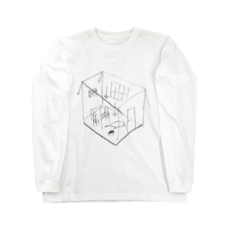 GHOST ROOM Long sleeve T-shirts