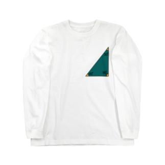 三角定規 Long sleeve T-shirts