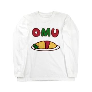 OMU OMU (余白有りVer.) Long sleeve T-shirts