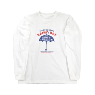 アンブレラ(傘)~happy rainy day~ Long sleeve T-shirts