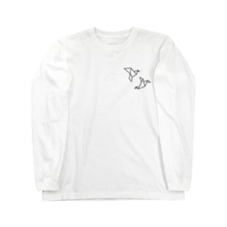 折鶴 Long sleeve T-shirts