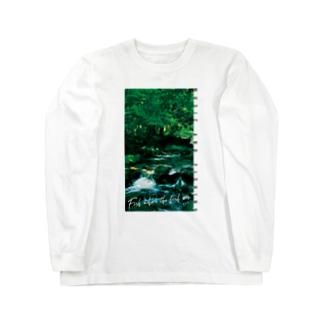 Fishing Spot T shirts Trout Long sleeve T-shirts